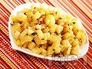 Рецепта Гарнитура от целина, портокали и орехи